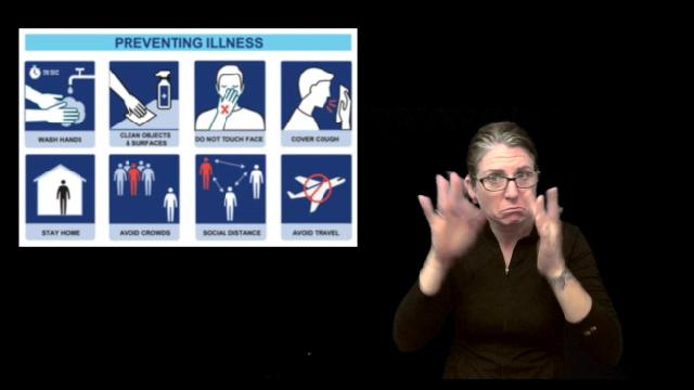 American Sign Language (ASL) Video: COVID-19 Visual Communications Tool Thumbnail