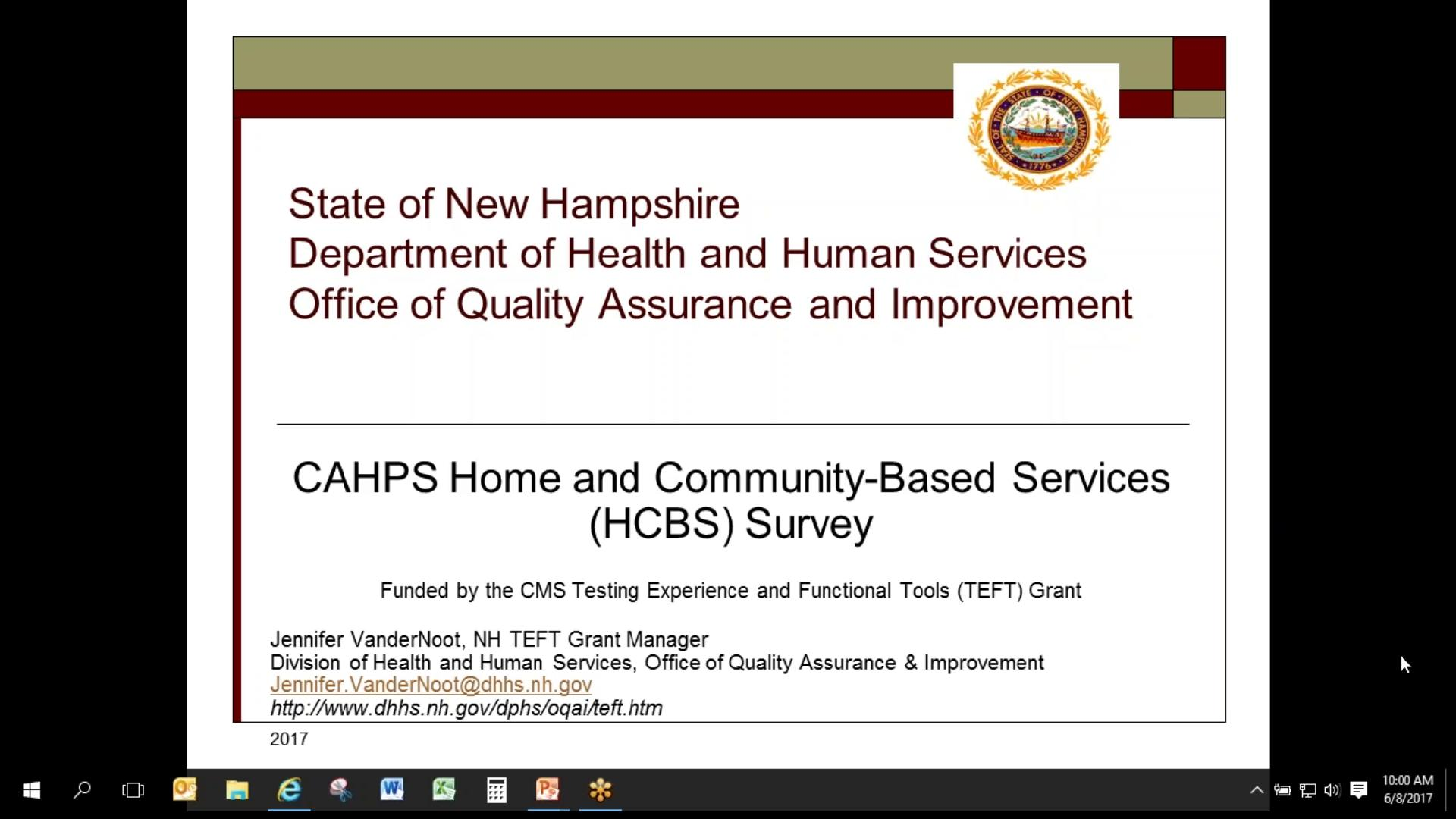Consumer Assessment of Healthcare Providers and Systems Video ...