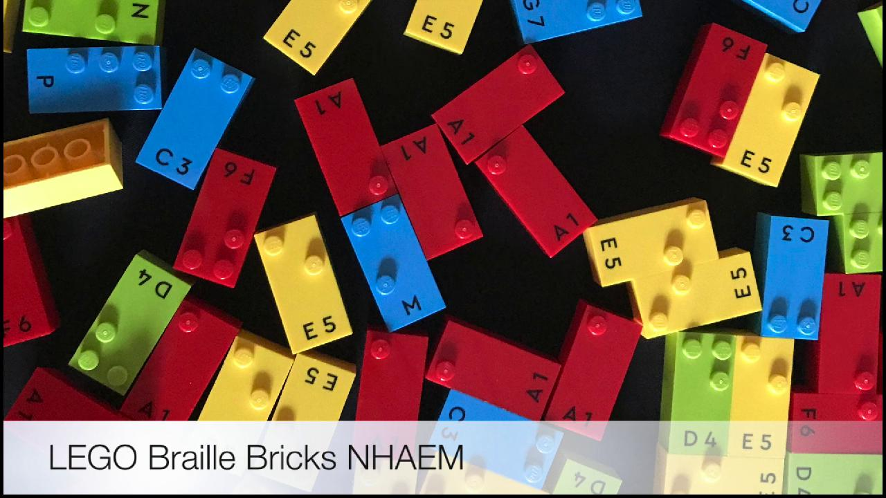 LEGO Braille Bricks Video Thumbnail